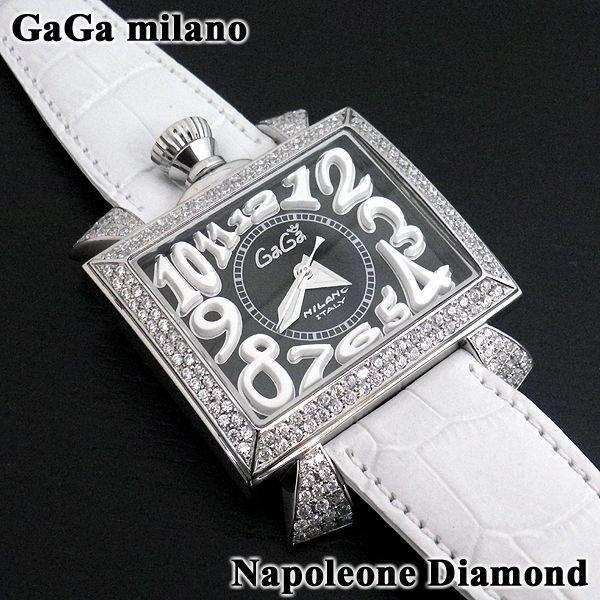 画像3: ガガミラノ 時計 ナポレオーネ 48mm ダイヤ GaGa MILANO 正規品