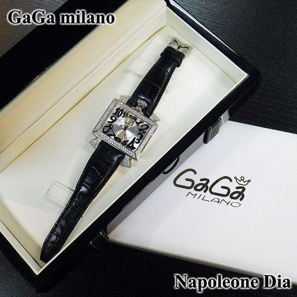 画像5: ガガミラノ ナポレオーネ 48mm ダイヤ GaGa milano 時計