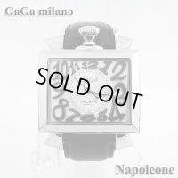 即納:ガガミラノ ナポレオーネ 48mm 6000.5 腕時計 GaGa milano