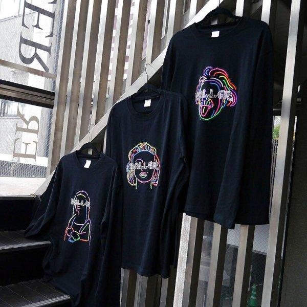 ブラックライトで光るネオンシャツコレクション