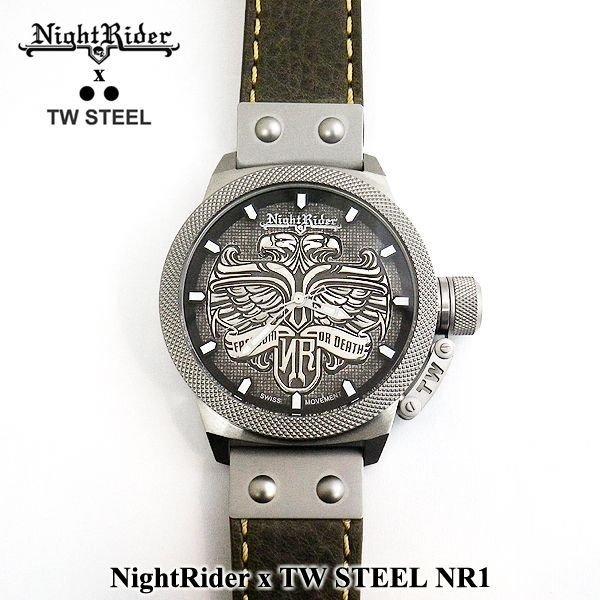 画像2: NightRider x TW STEEL コラボレーション 時計 イーグル NR1 国内未発売モデル