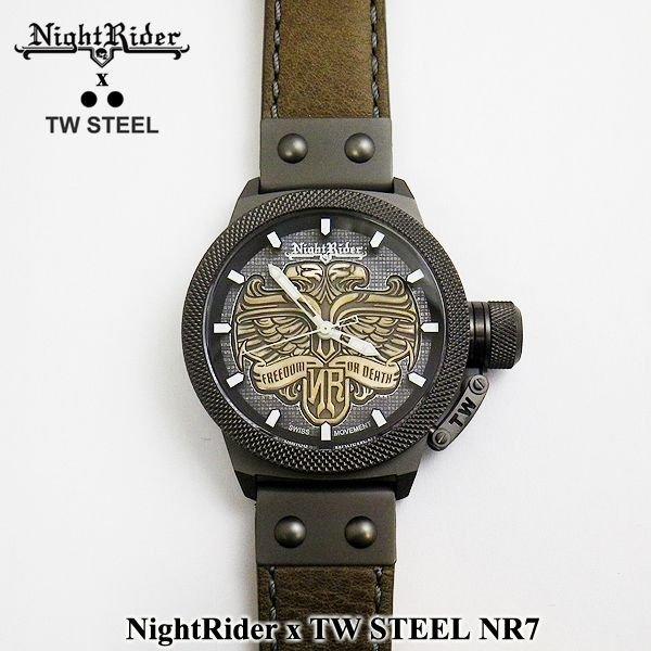 画像2: NightRider x TW STEEL コラボレーション 時計 イーグル NR7 国内未発売モデル