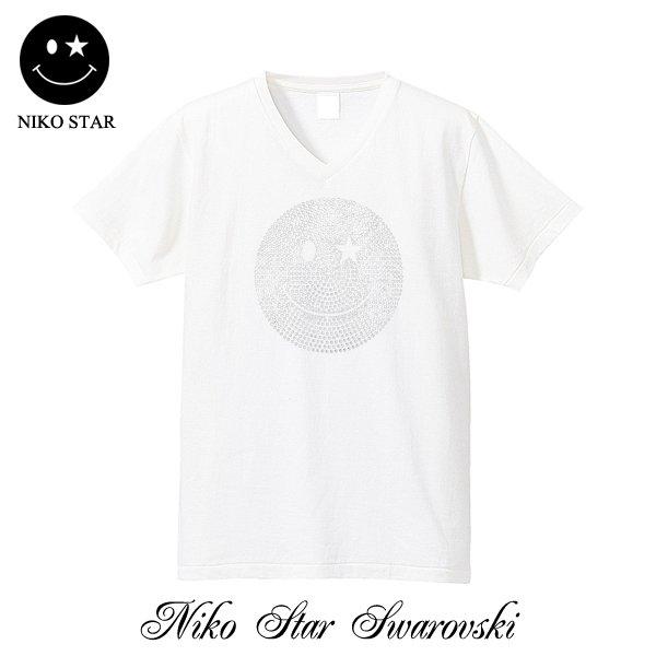 画像3: 【SALE】NICOSTAR スマイル スワロTシャツ Mサイズ