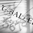 人気ブランド 数字ペンダント G-BALLER ナンバー1