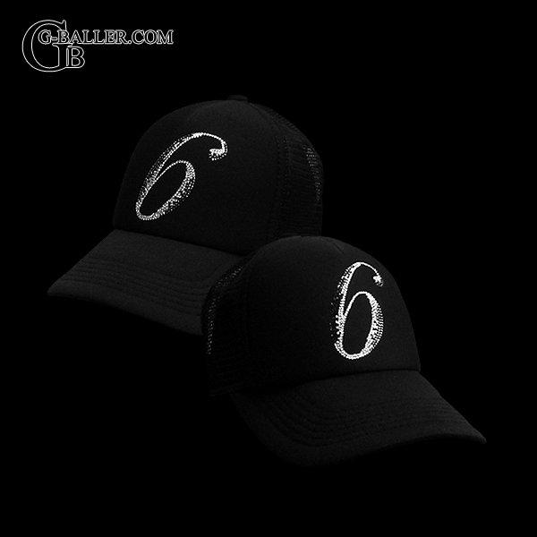 画像2: スワロフスキー キャップ ブランド 数字 6 スワロ CAP