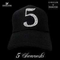 ナンバー5 キャップ G-BALLER オリジナル スワロフスキーCAP