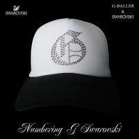 ナンバリング G CAP G-BALLER キャップ スワロフスキーCAP