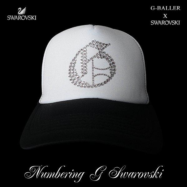画像1: ナンバリング G CAP G-BALLER キャップ スワロフスキーCAP
