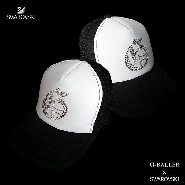画像2: ナンバリング G CAP G-BALLER キャップ スワロフスキーCAP