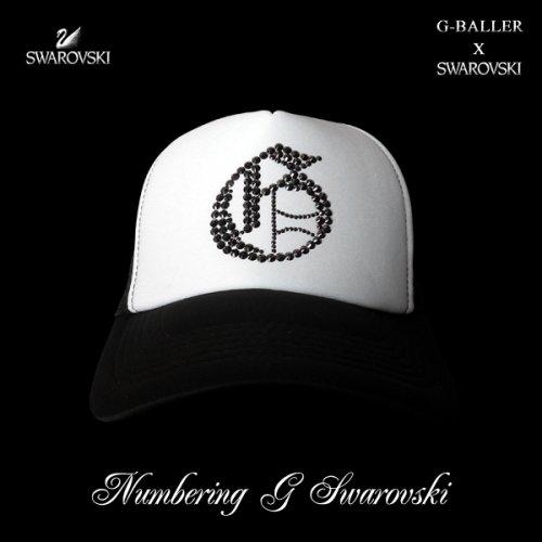 他の写真1: ナンバリング G CAP G-BALLER キャップ スワロフスキーCAP