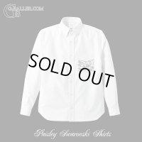 【SALE】ペイズリー スワロドレスシャツ Lサイズ