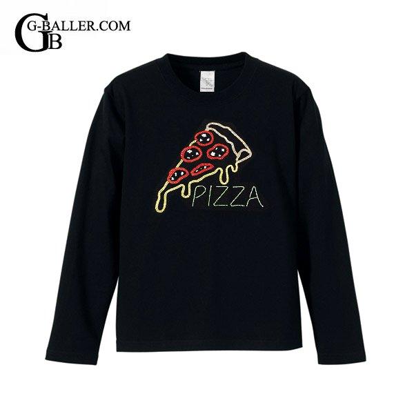 ネオンピザ スワロTシャツ ロング リブなし