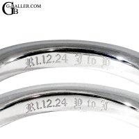 指輪刻印 | リング刻印オーダー 名入れ メッセージ 文字 イニシャル 数字