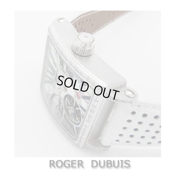 画像4: 世界限定28本 ロジェデュブイ【ROGER DUBUIS】 G40 03 0-SBD GN1G.7A ゴールデンスクエア トゥールビヨン バケットダイヤ
