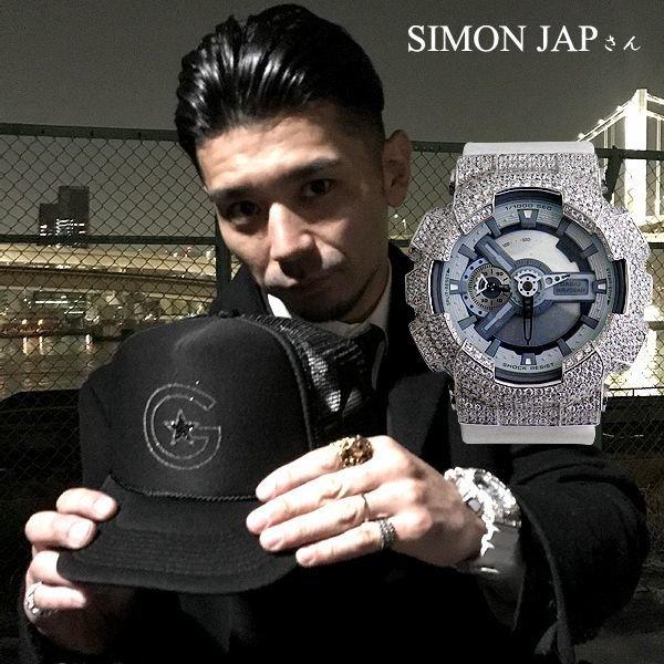 SIMON JAPさん着用モデル