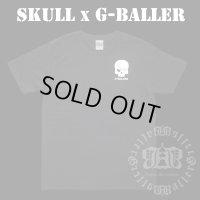 G-BALLER スカル プリント Tシャツ Gボーラー オリジナル スカルTシャツ