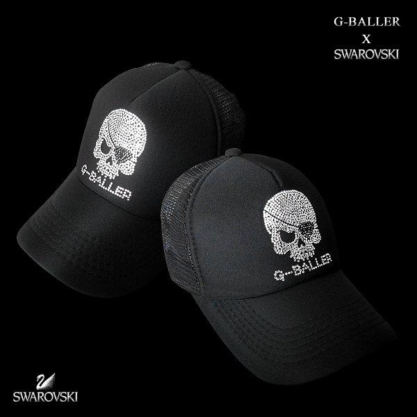画像2: スカル メッシュ キャップ SKULL CAP オリジナル デザイン
