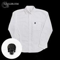 Skull Shapes スワロフスキー ドレスシャツ