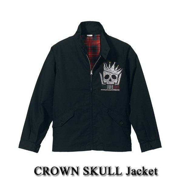 画像1: クラウンスカル ジャケット CROWN SKULL Jacket