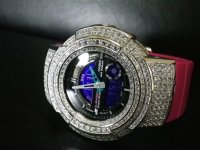 G-SHOCK CUSTUM 高級時計仕様 レアAWシリーズ クリスタルwhite AWカスタムModel