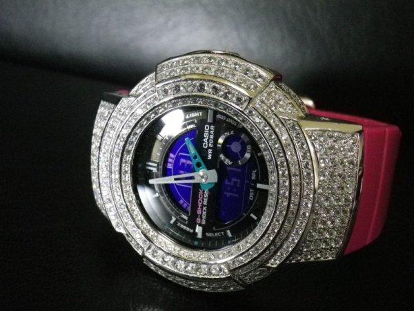 画像1: G-SHOCK CUSTUM 高級時計仕様 レアAWシリーズ クリスタルwhite AWカスタムModel