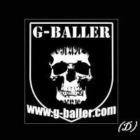 G-BALLER BRAND STICKER シリーズ / Gボーラー ブランド ステッカー シリーズ