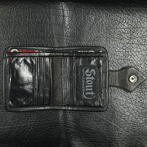 Stout Leather Wallet Bull Dog