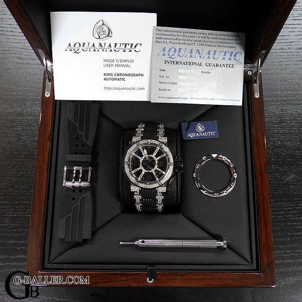 画像5: アクアノウティック キングサブコマンダー ダイヤマスク ハーフダイヤベルト