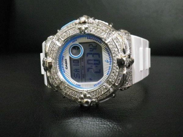 画像1: クロムスカル Silver925 カスタムベゼル クロムハーツ LDS Series