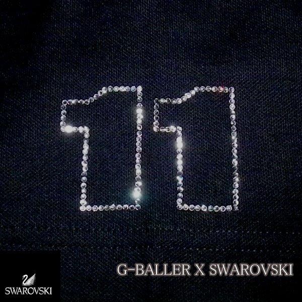 画像2: スワロフスキーオーダーメイド 製作 ナンバー11 オーダーポロシャツ