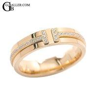 ティファニーアフターダイヤ | ティファニーT ツー ナロ―リング ダイヤモンド