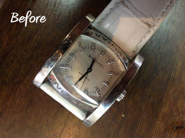 画像5: ブルガリ 時計 アフターダイヤ アショーマ 44 ダイヤ加工