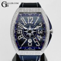 フランク・ミュラー Franck Muller Vanguard Yachting Diamond Custom V45SCDT