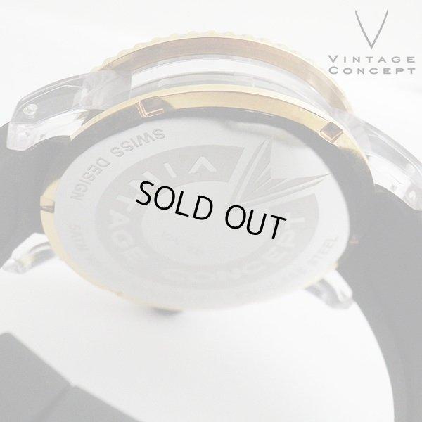 画像4: ヴィンテージコンセプト VINTAGE CONCEPT 時計 V3AL ブラック x レッド 希少 ブランド腕時計