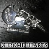 クロムハーツ 3トリンケッツ ペンダントにダイヤモンドがセッティングされた人気のアイテム。