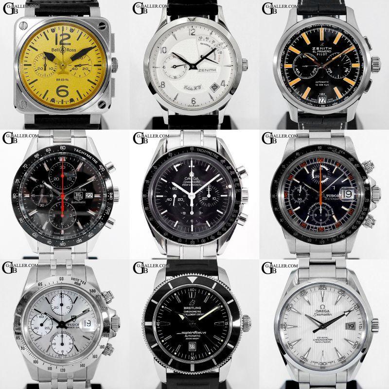 ブランド時計の中古販売も多数行ってます。