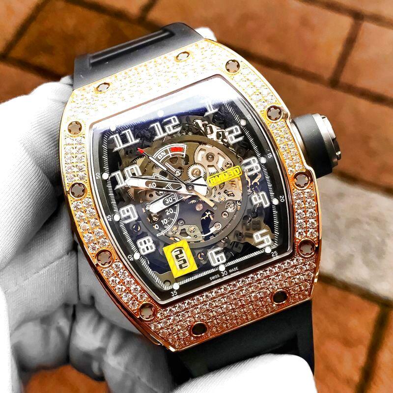 リシャールミル RM030 RG パヴェダイヤモンド