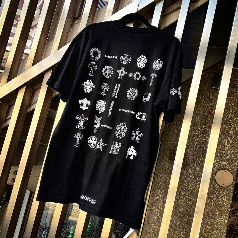 クロムハーツ マルチロゴTシャツ 黒