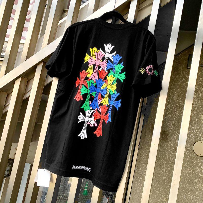 クロムハーツ マルチカラー Tシャツ 黒
