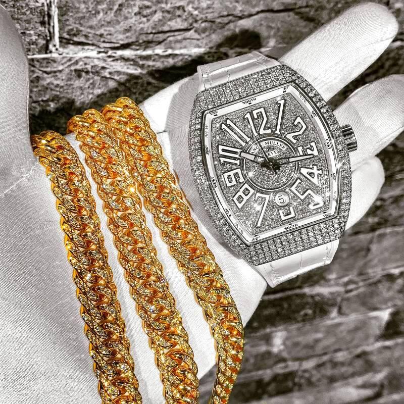 喜平ネックレス 6面ダブル 200g 60cm ダイヤモンド