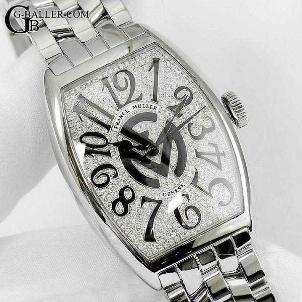 フランクミュラー アフターダイヤ時計のオーバーホールを致します。