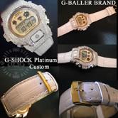 G-BALLERを代表するG-SHOCKカスタム クロムスカルカスタムとなります。