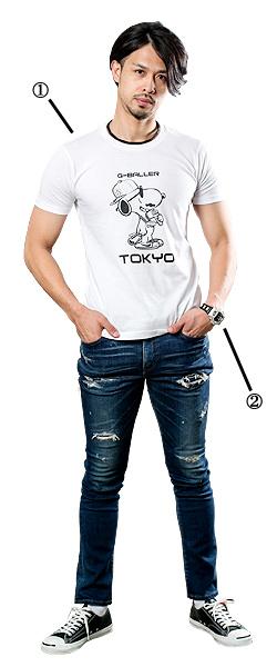 千葉jets佐藤選手が着用しているスヌーピーサングラスアイテム